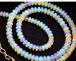54 CTS   ETHIOPIAN OPAL BEADS STRAND   FOB- 2350