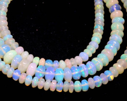 48 CTS   ETHIOPIAN OPAL BEADS STRAND   FOB- 2351