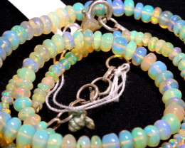 43 CTS   ETHIOPIAN OPAL BEADS STRAND   FOB- 2352