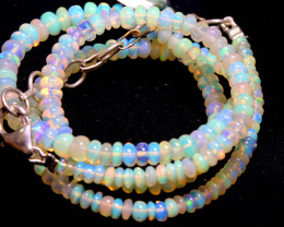 30 CTS   ETHIOPIAN OPAL BEADS STRAND   FOB- 2353
