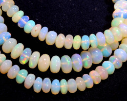 59 CTS   ETHIOPIAN OPAL BEADS STRAND   FOB- 2354