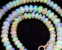 56 CTS   ETHIOPIAN OPAL BEADS STRAND   FOB- 2356