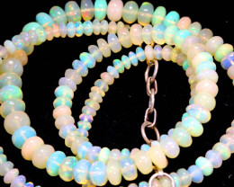 43 CTS   ETHIOPIAN OPAL BEADS STRAND   FOB- 2357
