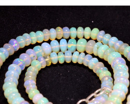 50 CTS   ETHIOPIAN OPAL BEADS STRAND   FOB- 2358
