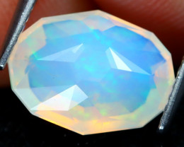 Welo Opal 2.41Ct Master Cut Natural Ethiopian Play Of Color Welo Opal D0211