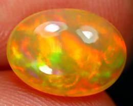 Welo Opal 2.14Ct Natural Ethiopian Play Of Color Welo Opal E0205