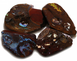 8 $ EACH CTS YOWAH OPAL NUTS IN MATRIX  ROUGH -TREATED[BY 9013]