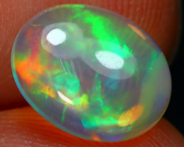 1.86Ct Bright Color Natural Ethiopian White Welo Opal DT0197