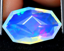 Welo Opal 2.38Ct Master Cut Natural Ethiopian Play Of Color Welo Opal F0301