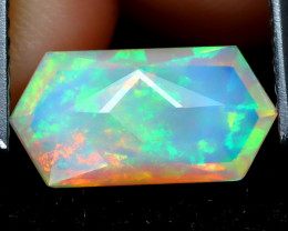 Welo Opal 1.28Ct Master Cut Natural Ethiopian Play Of Color Welo Opal F0302