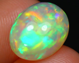 Welo Opal 2.33Ct Natural Ethiopian Play Of Color Welo Opal F0401