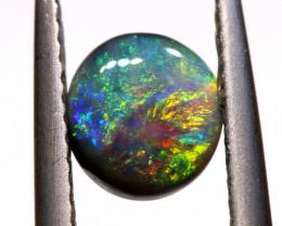 Australian Black Opal Lightning Ridge Cut Stone DO-33