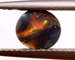Australian Black Opal Lightning Ridge Cut Stone DO-35