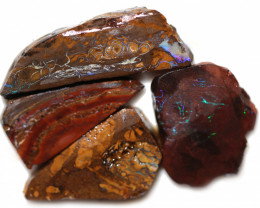 8 $ EACH CTS YOWAH OPAL NUTS IN MATRIX  ROUGH -TREATED[BY 9038]