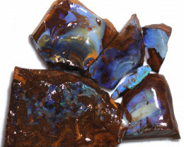 350 CTS BLUE BOULDER OPAL ROUGH - [PS 118]