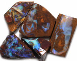 290 CTS BLUE BOULDER OPAL ROUGH -  [PS 121]