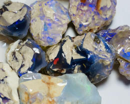BIG SIZE NOBBY ROUGH CRYSTAL OPALS - 350 CTS #766