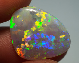3.85CT  DOUBLE SIDED CRYSTAL OPAL FROM LIGHTNING RIDGE AL626