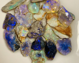 BRIGHT NOBBY ROUGH OPALS - 65 CTS #769