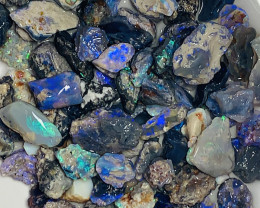 POTENTIAL BLACK NOBBY ROUGH OPALS #771
