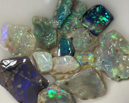 HIGH GRADE ROUGH OPALS FOR CUTTERS (must see video) #772