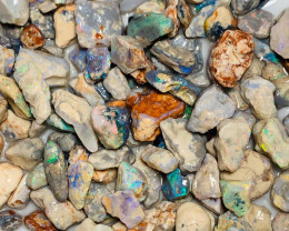 Colourful High Potential Rough Nobby Opals - 420 CTs