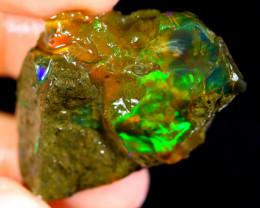 80cts Ethiopian Crystal Rough Specimen Rough / CR1326