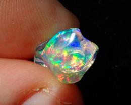 3ct Natural Opal Rough Mexican Fire Opal