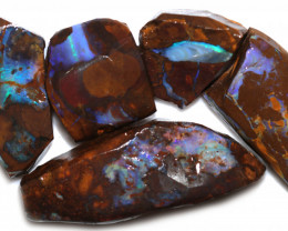 420 CTS BLUE BOULDER OPAL ROUGH -  [PS 131]
