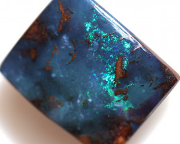 14.05 CTS BOULDER OPAL-WELL POLISHED -FRANKLIN [BMA9683]
