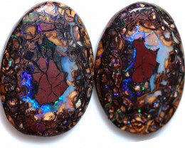 115.80 CTS STUNNING BOULDER OPAL FROM KOROIT [BMA9719]