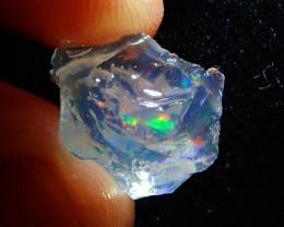 6.3ct Natural  Rough Specimen Mexican Fire Opal