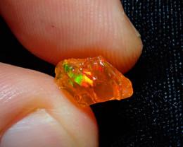 1.6ct Natural  Rough Specimen Mexican Fire Opal
