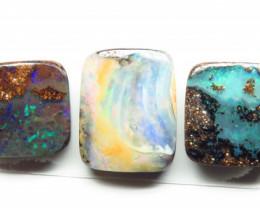 11.53ct Queensland Boulder Opal 5 Stone Parcel