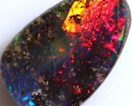 4.00 CTS BOULDER OPAL FROM JUNDAH - WELL POLISHED [BMA9722]