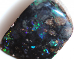 11.05 CTS DRILLED BOULDER OPAL -WELL POLISHED [BMA9743]