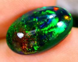 4.12cts Ethiopan Smoked opal / CR1355