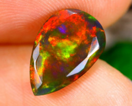 1.78cts Ethiopan Faceted Smoked opal / CR1359