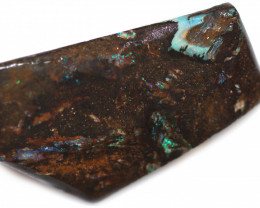 99 CTS WOOD FOSSIL ROUGH  OPAL-MINED IN JUNDAH [BY9118]