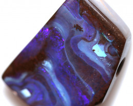 41.45 DRILLED BOULDER OPAL -WELL POLISHED [BMA9771]