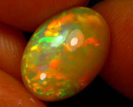 Welo Opal 2.75Ct Natural Ethiopian Play of Color Opal JN161/A3