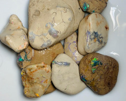 Bright Multicolour Rough Opals - Collectors/Carvers Material