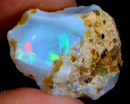 12cts Ethiopian Welo Rough Opal / WR2923
