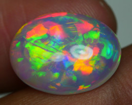 4.865 CRT WONDERFULL FLOWER FLORAL FIRE DELUXE COLOR WELO OPAL-