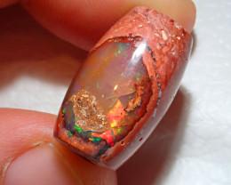 23.3ct Mexican Matrix Cantera Multicoloured Fire Opal