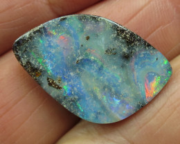 24cts, BOULDER OPAL~GLOSSY FINISH.