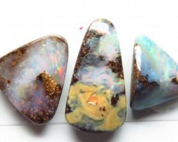 13.13ct Queensland Boulder Opal 5 Stone Parcel