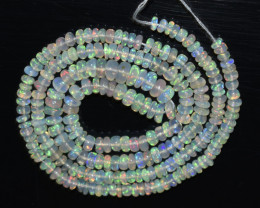 30.00 Ct Natural Ethiopian Welo Opal Beads Play Of Color OB1047