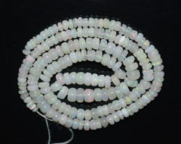 45.00 Ct Natural Ethiopian Welo Opal Beads Play Of Color OB1053