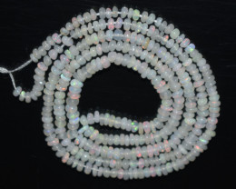 14.55 Ct Natural Ethiopian Welo Opal Beads Play Of Color OB1055